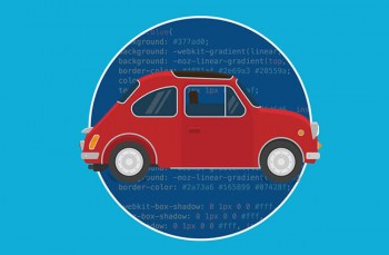 Learn to design an animated car using HTML and CSS3
