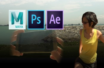VFX Shot Creation from Scratch with Maya and After Effects