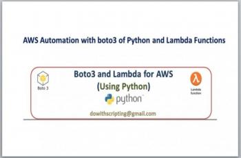 AWS Automation with Python boto3 API and Lambda Functions