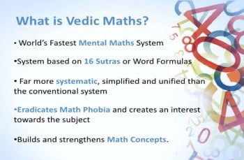 Vedic Maths : Tricks For Faster Calculation