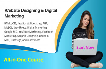 Learn Website Designing, WordPress and Digital Marketing