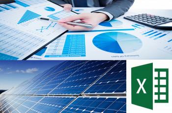 Financial Modeling of 10kW Solar Power Plant in Excel Sheet