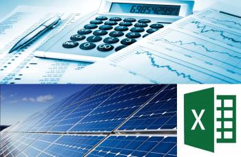 Financial Modeling of 50kW Solar Power Plant in Excel Sheet