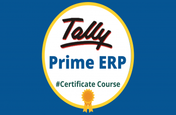 Tally Prime Erp with GST 2021 - Certificate Course