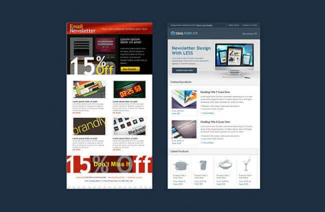 Design Newsletter with Less for Free with Html CSS3 Course