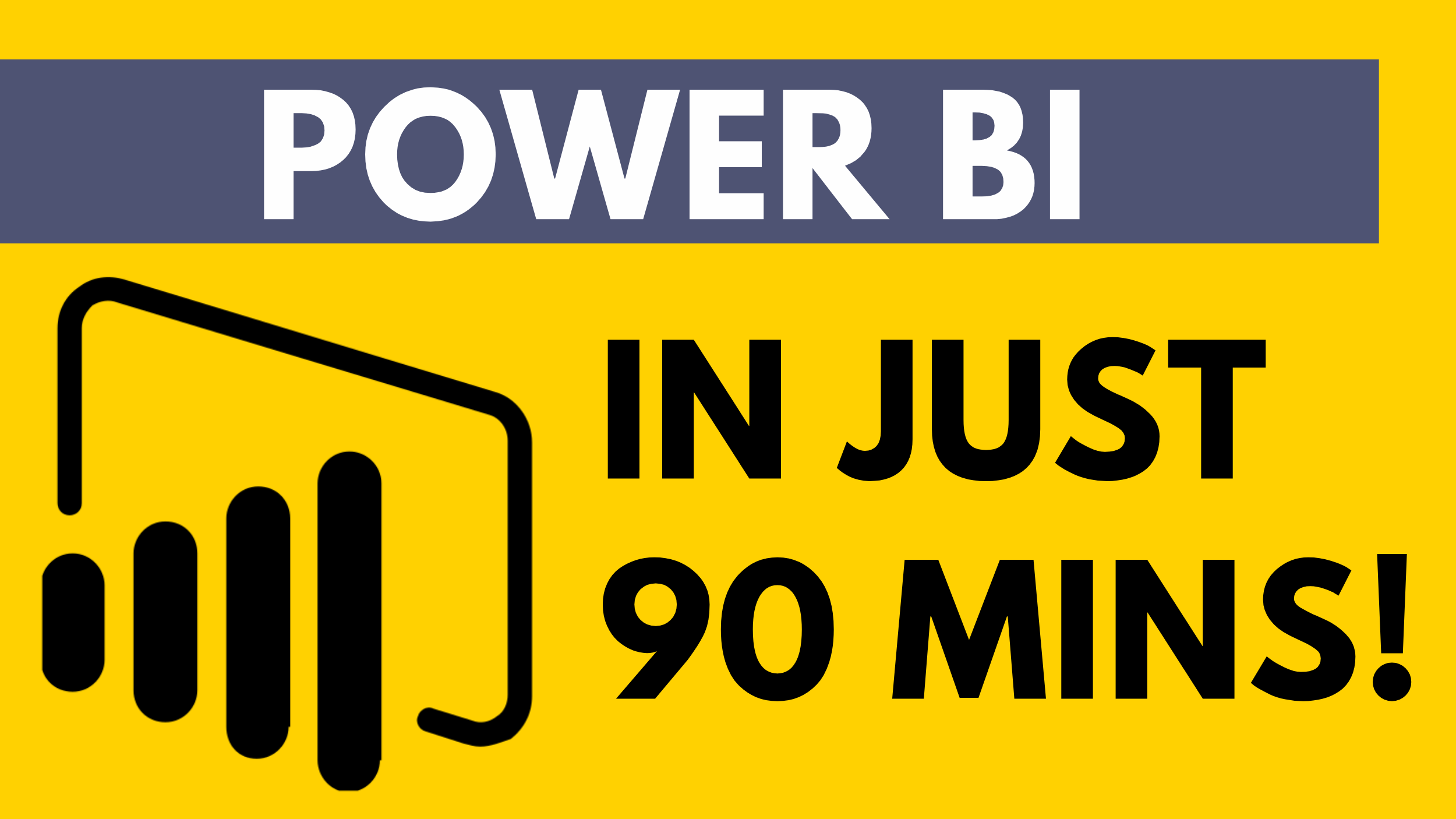Make Awesome Eye-catching Dashboards from your data using Power BI!