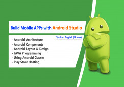 Learn Android Studio in Hindi Language and Learn Spoken English
